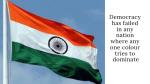 Unfurling A Balanced Flag..!