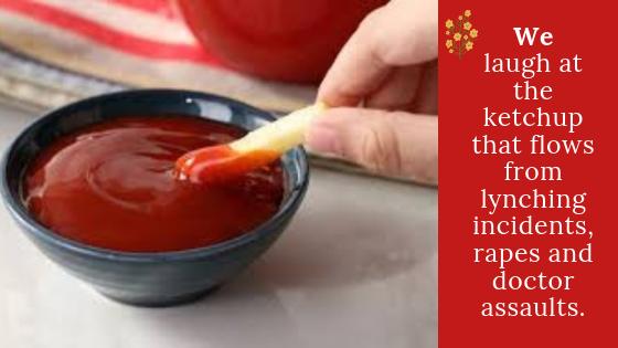 My Tomato Ketchup and Dishum-Dishum..!