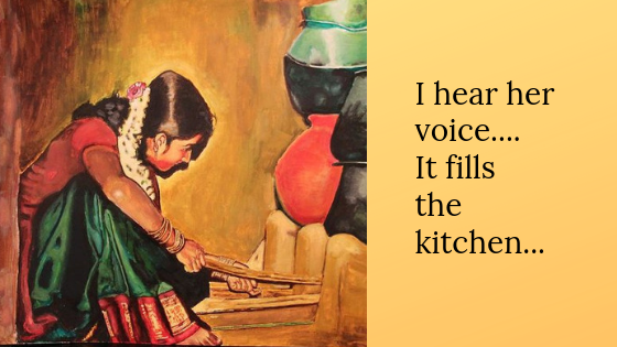 Singing In the Kitchen..!