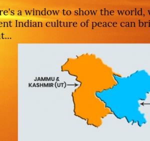 Kashmir: A Healing..!