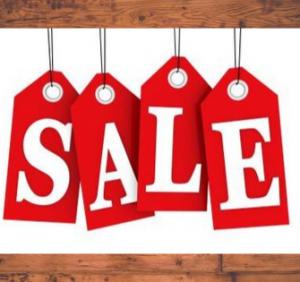 Sale! Sale! Sale! BUT DON'T BUY..!
