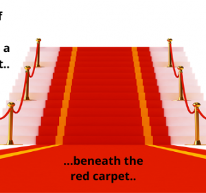 Beneath Today's Red Carpet..!
