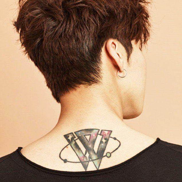 The Tattoo of a Winner..!