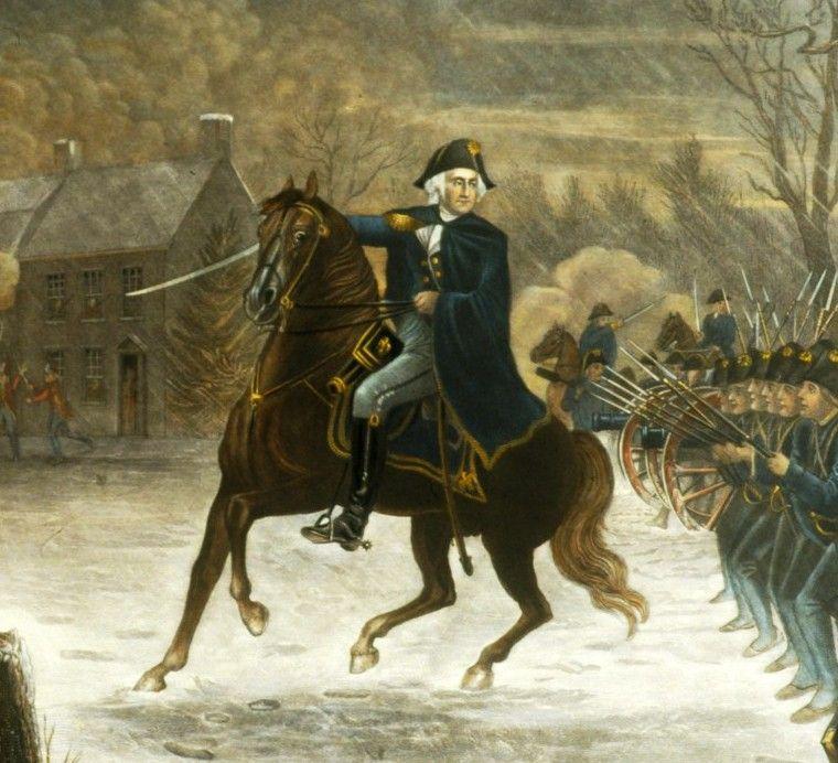 Sir Covid-19 and George Washington..!