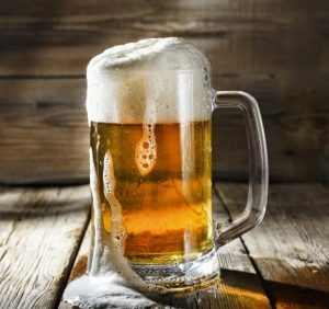 A Glass of Draught Beer..!