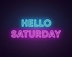 It's Saturday..!