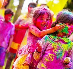 The Colours Of Holi..!