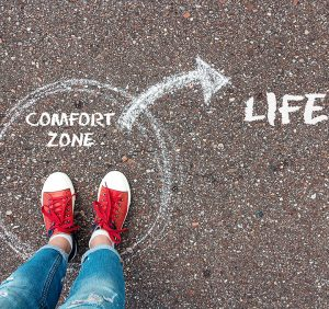 Moving Out of Your Comfort Zone..!