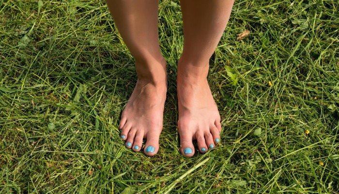 Green Grass Below Your Feet..!